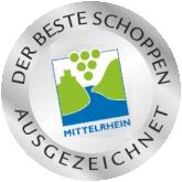 Kooperation und Auszeichnung - Bester Schoppen am Mittelrhein